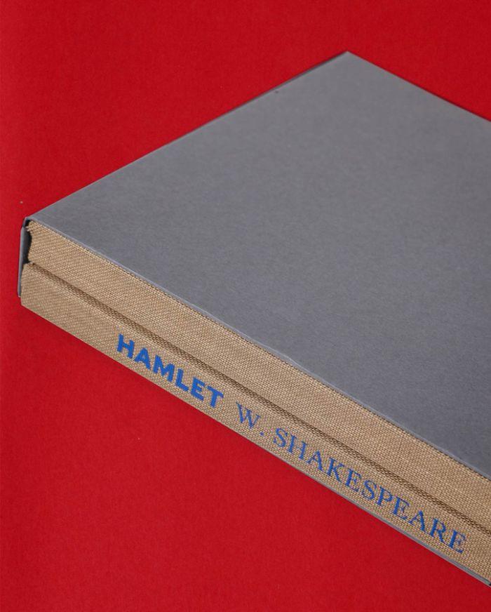 A tragédia de Hamlet, príncipe da Dinamarca - edição de artista